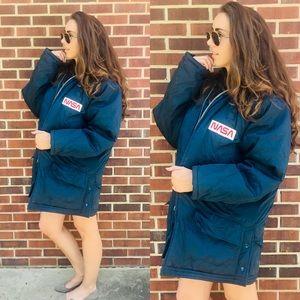 NASA | Vintage | Oversized Bomber Jacket | Ariana